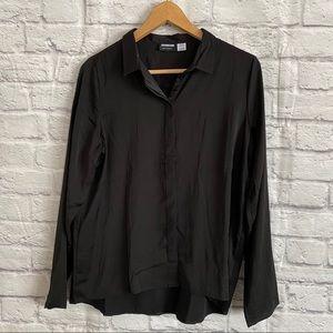 NOISY MAY Black Button Down Shirt
